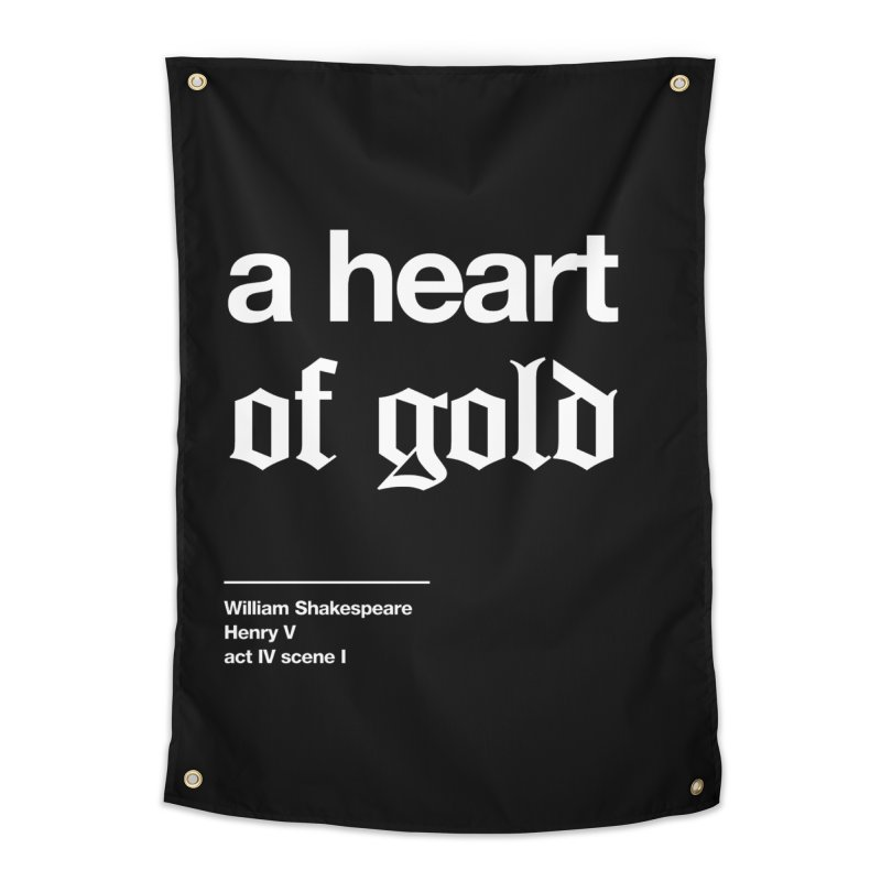 a heart of gold Home Tapestry by Shirtspeare