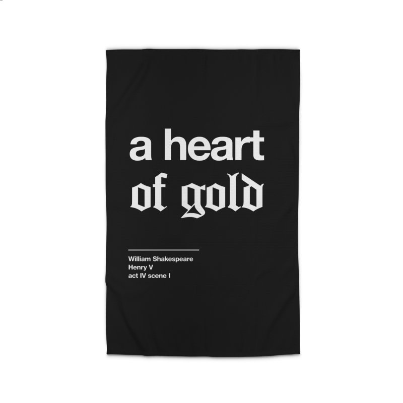 a heart of gold Home Rug by Shirtspeare