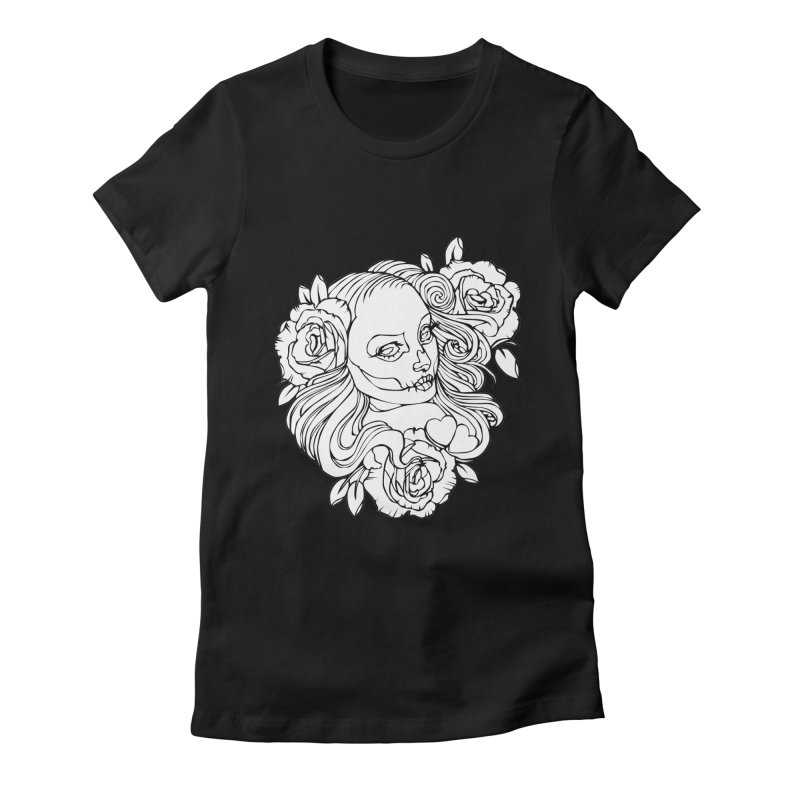 Boni Malevich Women's Fitted T-Shirt by shizoy's Shop