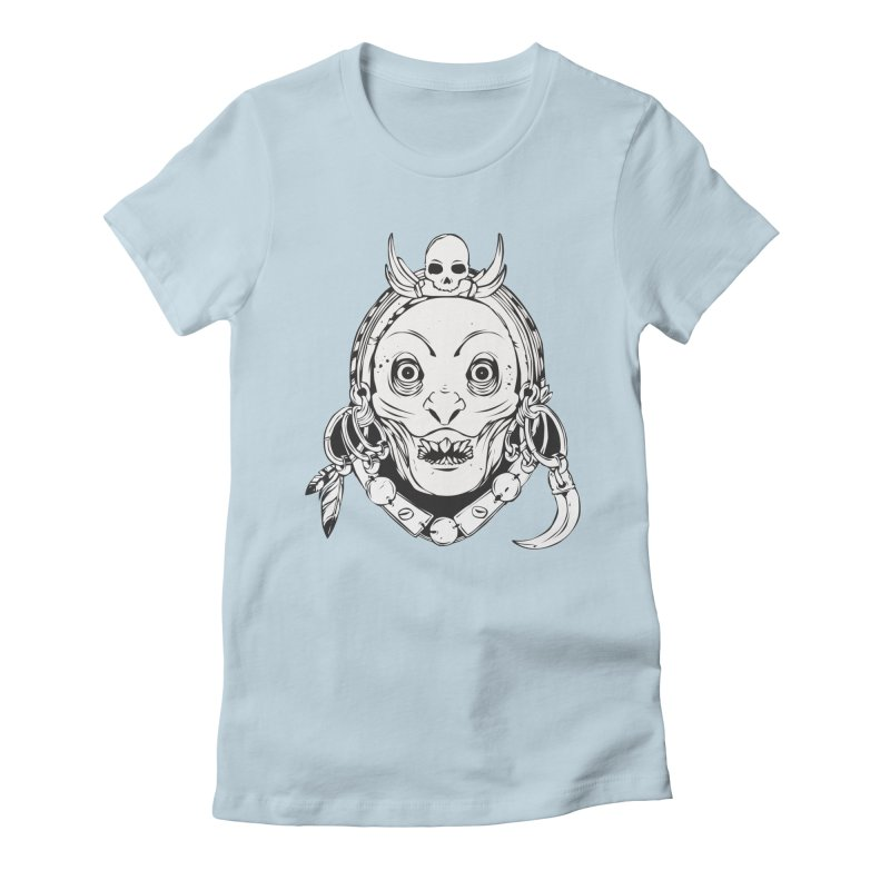 Nikatara Women's Fitted T-Shirt by shizoy's Shop
