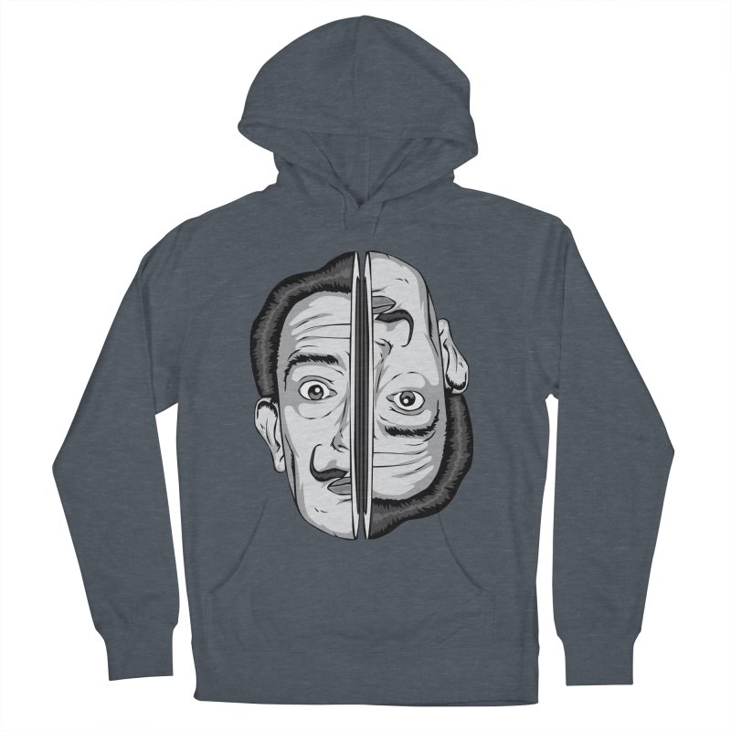Salvador Dali Men's French Terry Pullover Hoody by shizoy's Shop