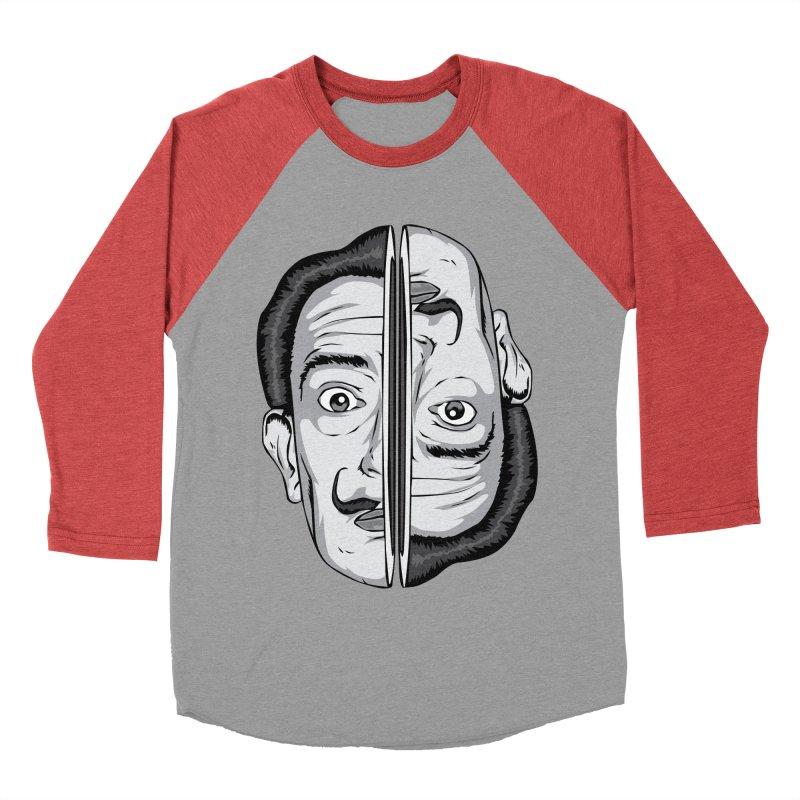 Salvador Dali Men's Baseball Triblend T-Shirt by shizoy's Shop