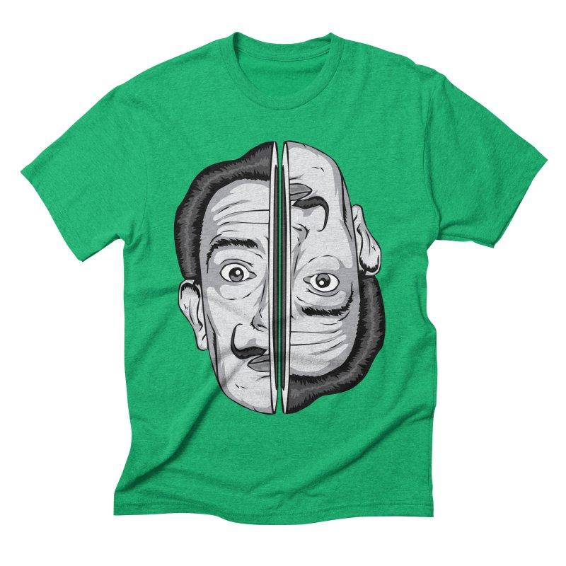Salvador Dali Men's Triblend T-shirt by shizoy's Shop
