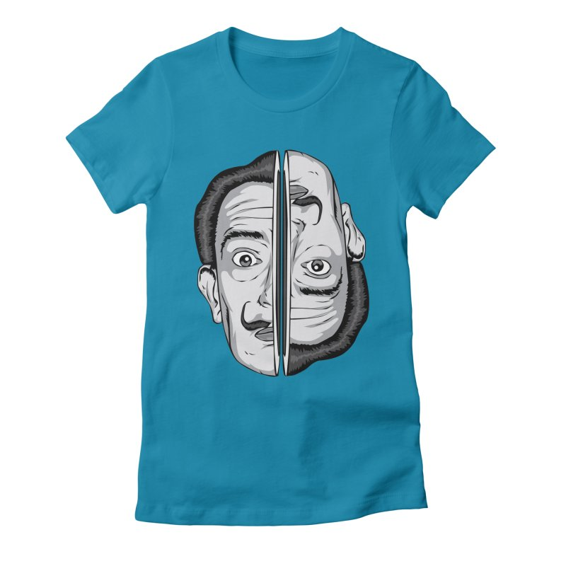 Salvador Dali Women's Fitted T-Shirt by shizoy's Shop