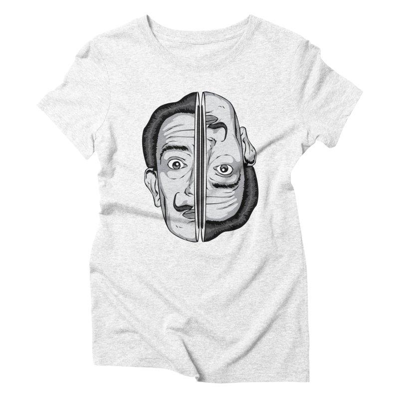 Salvador Dali Women's Triblend T-shirt by shizoy's Shop