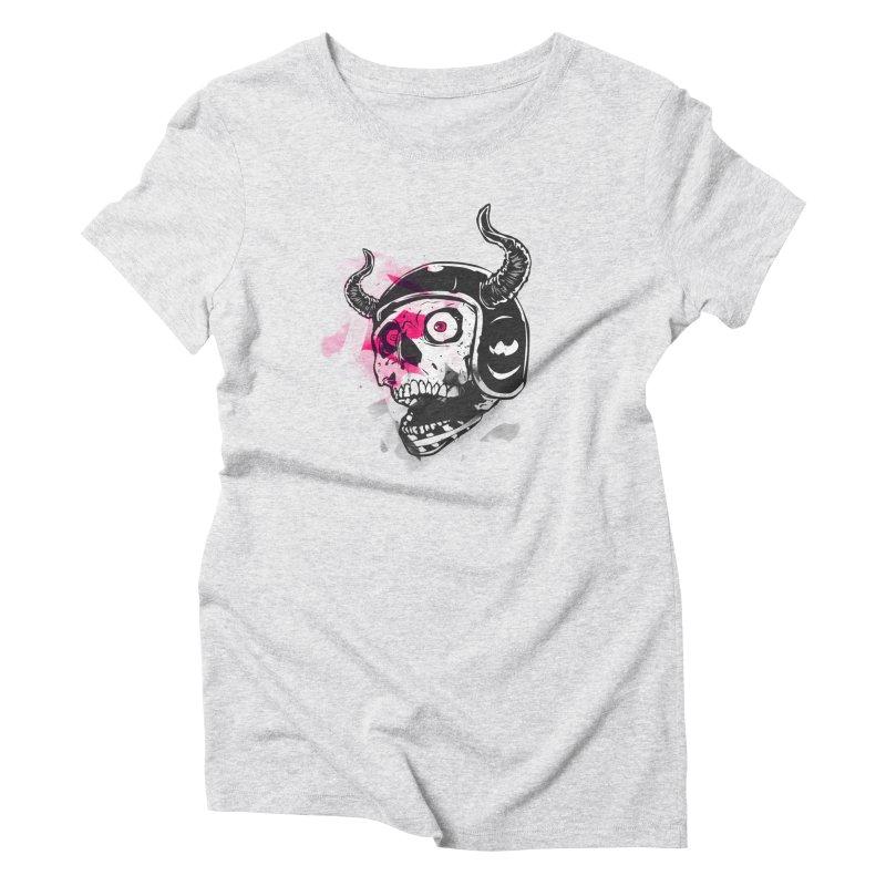Fok Women's Triblend T-Shirt by shizoy's Shop
