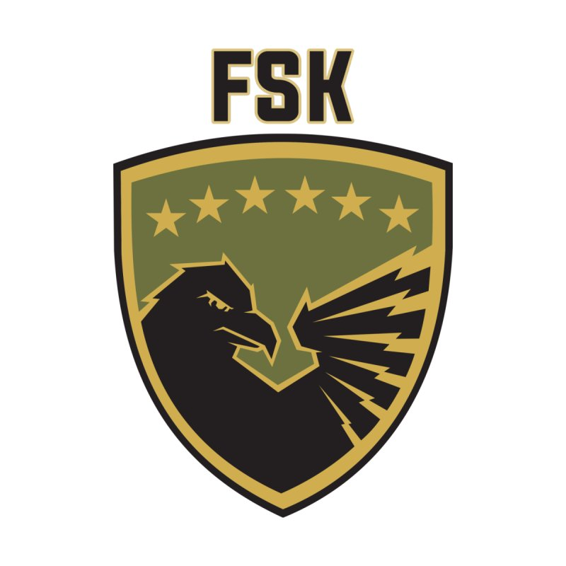 FSK Kosovo Army Men's T-Shirt by ylllenjani.com