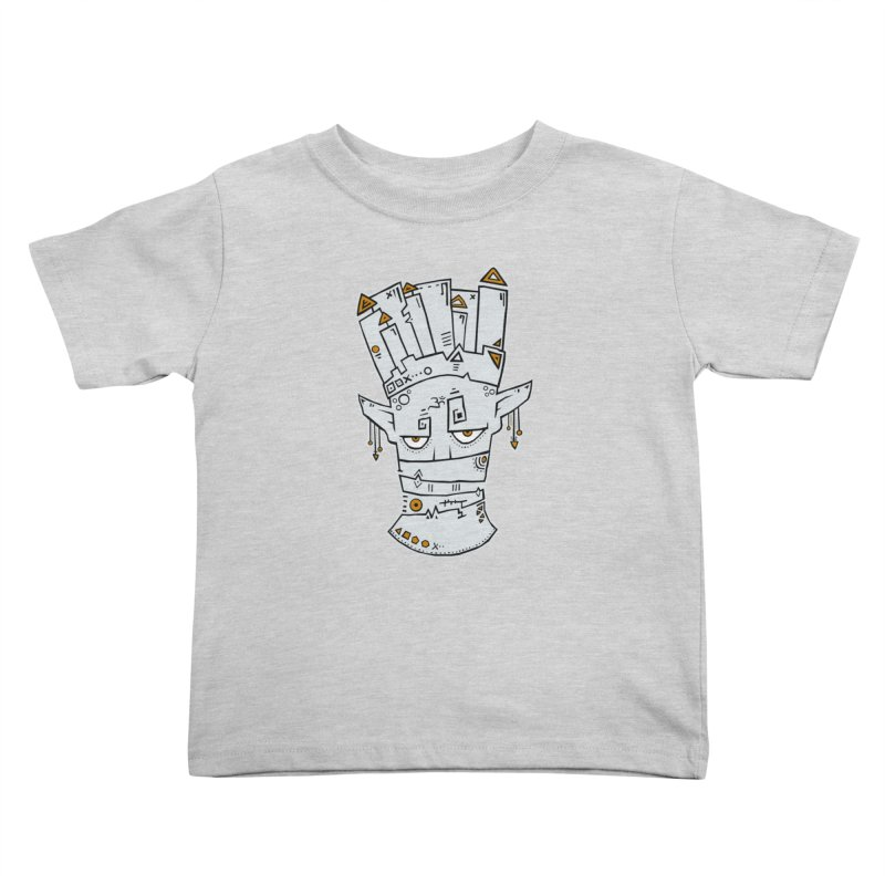 Tuareg King Kids Toddler T-Shirt by -Sho Art