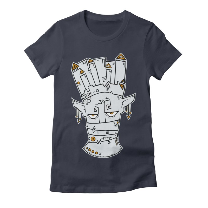 Tuareg King Women's Fitted T-Shirt by -Sho Art