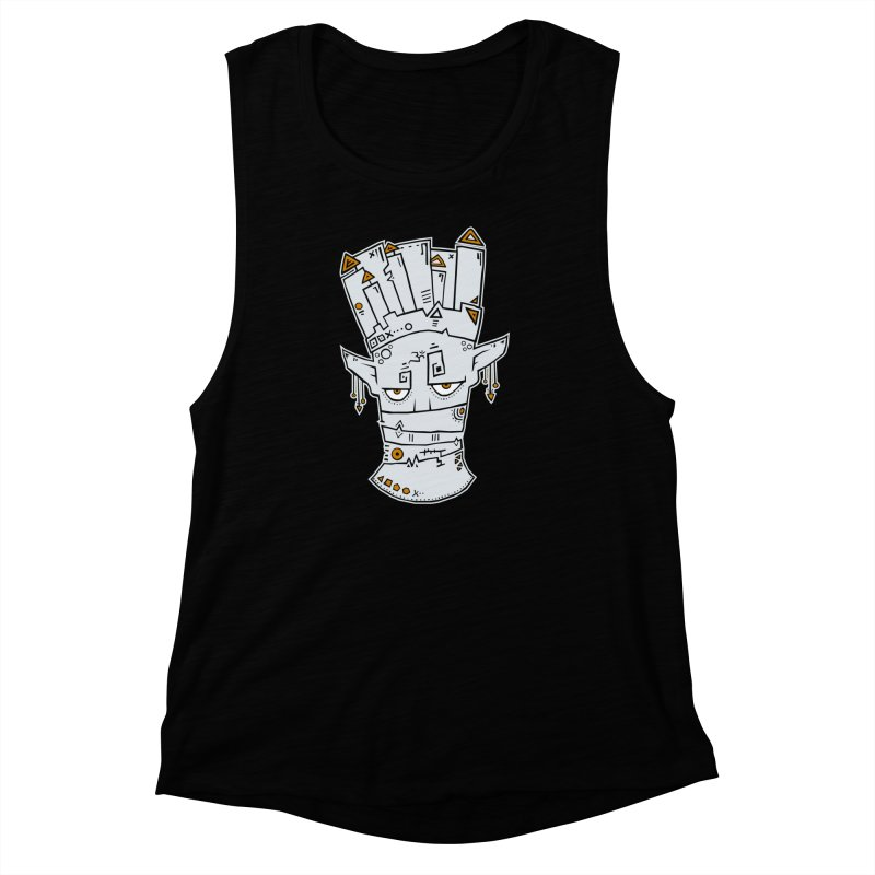 Tuareg King Women's Muscle Tank by -Sho Art