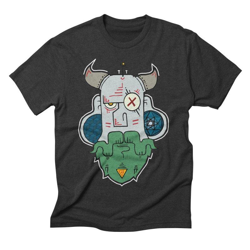 Valdemar Men's Triblend T-shirt by -Sho Art