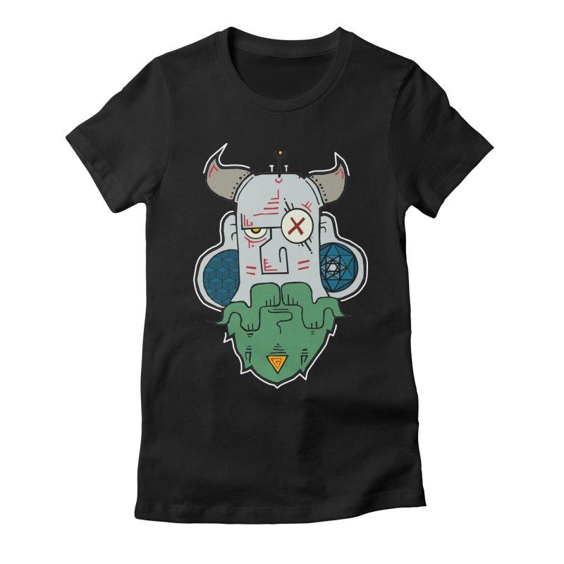Valdemar Women's Fitted T-Shirt by -Sho Art