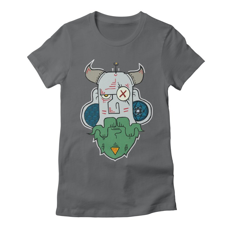 Valdemar Women's Fitted T-Shirt by -Sho Art