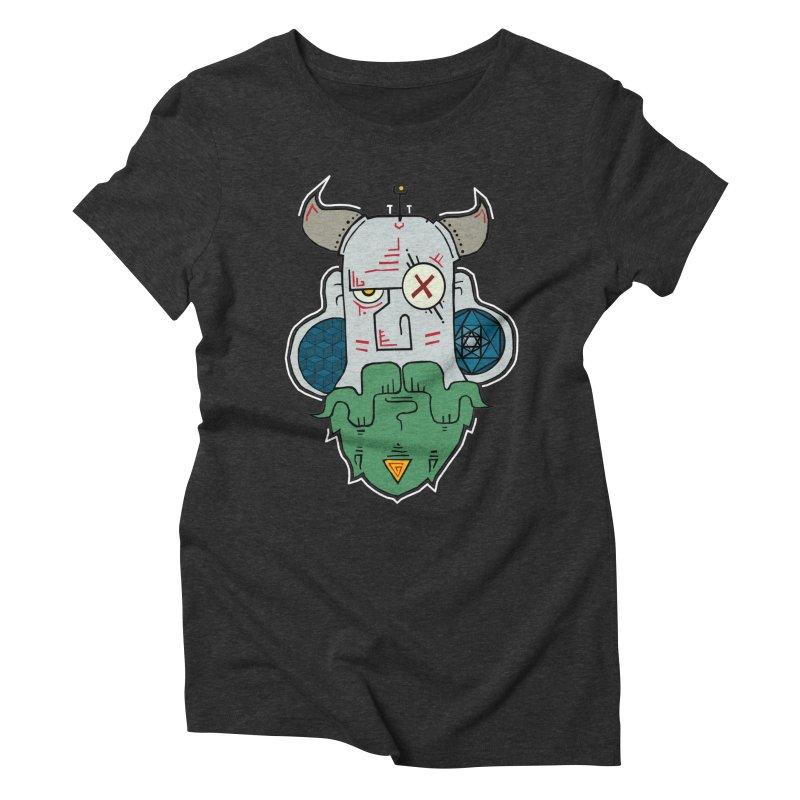 Valdemar Women's Triblend T-shirt by -Sho Art