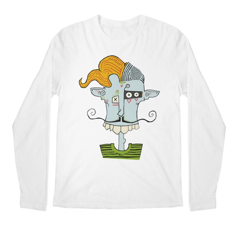 Cyber Barber Men's Longsleeve T-Shirt by -Sho Art