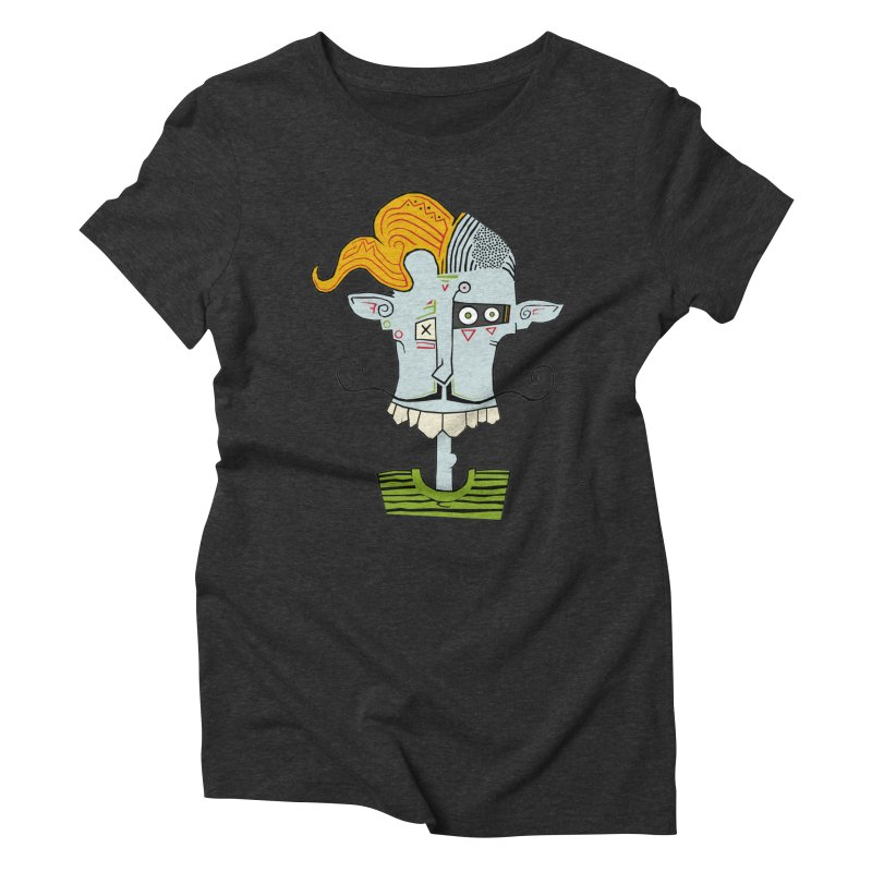 Cyber Barber Women's Triblend T-shirt by -Sho Art