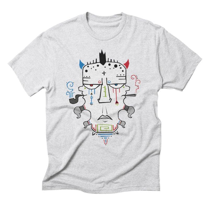 Good, Bad, Ugly Men's Triblend T-Shirt by -Sho Art
