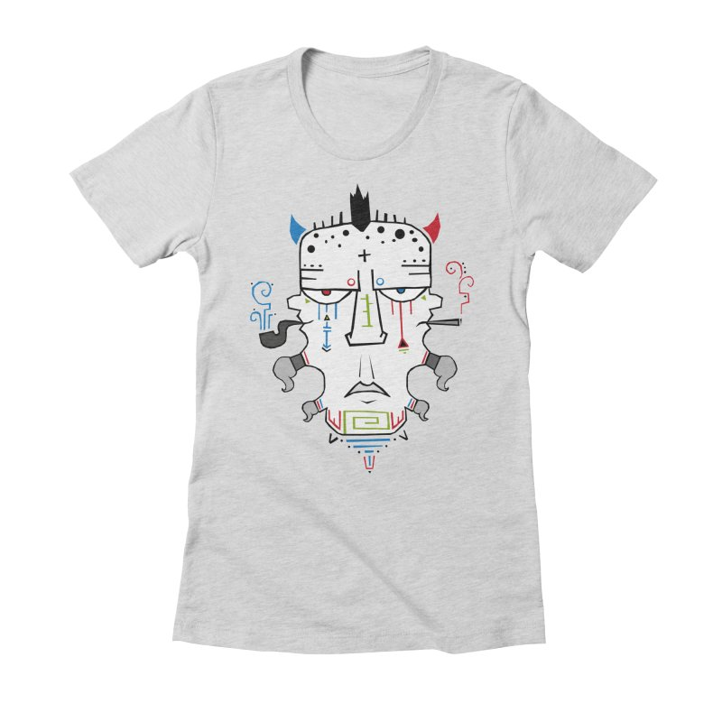 Good, Bad, Ugly Women's Fitted T-Shirt by -Sho Art