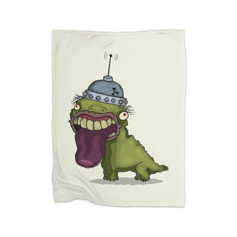 Frogy Doggy Home Blanket by -Sho Art