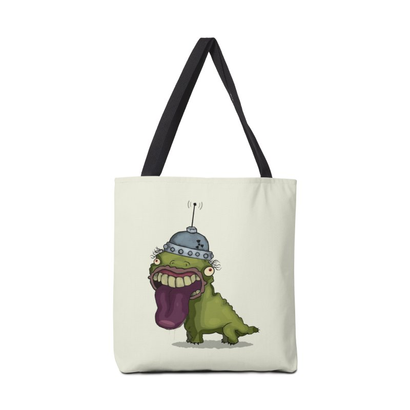 Frogy Doggy Accessories Bag by -Sho Art