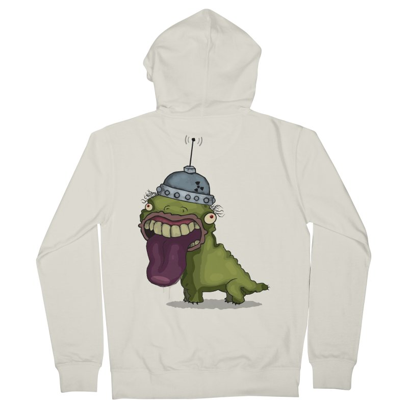 Frogy Doggy Men's Zip-Up Hoody by -Sho Art
