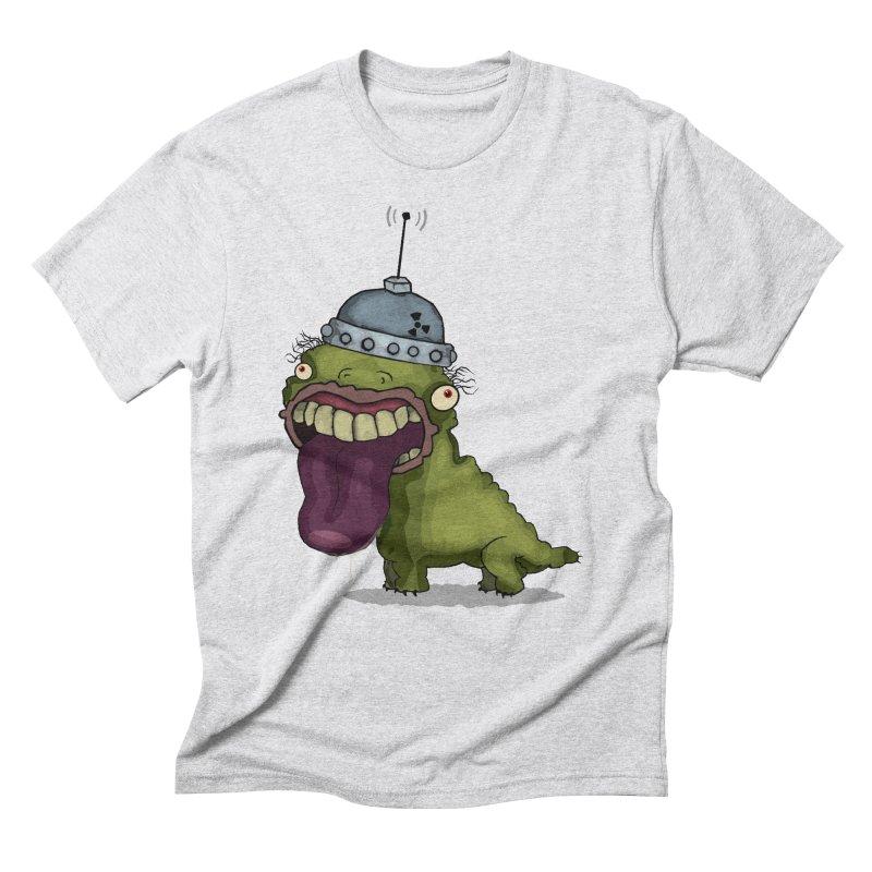 Frogy Doggy Men's Triblend T-Shirt by -Sho Art