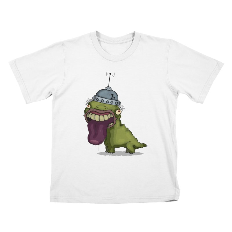 Frogy Doggy Kids T-shirt by -Sho Art