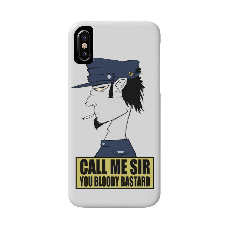 Call Me Sir Accessories Phone Case by -Sho Art