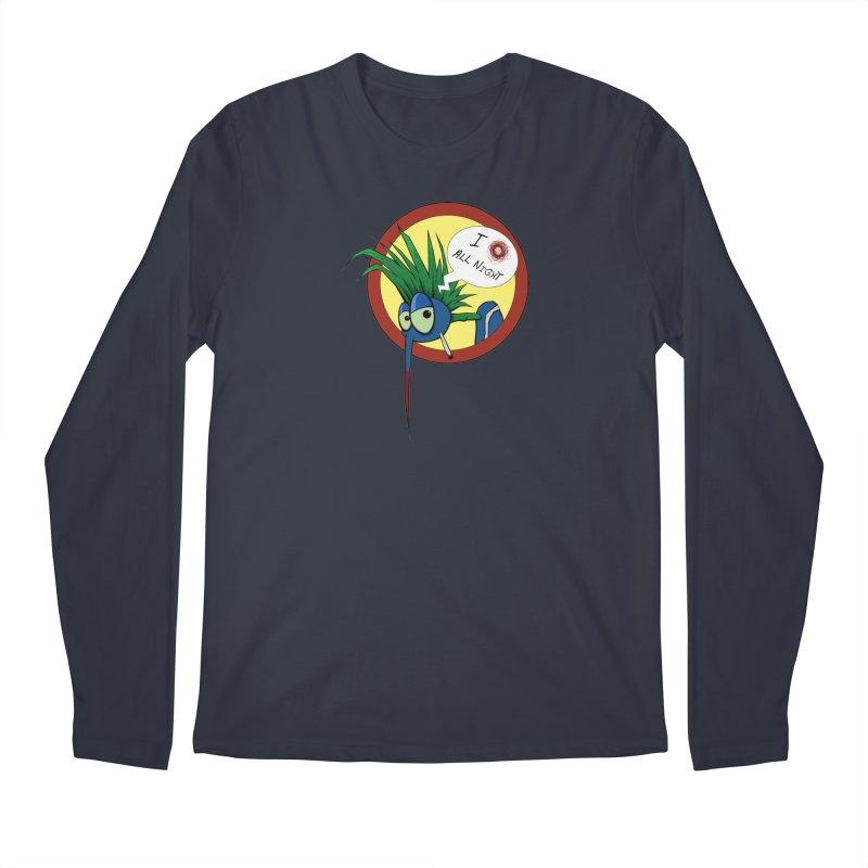 Punkass mosquito Men's Longsleeve T-Shirt by -Sho Art