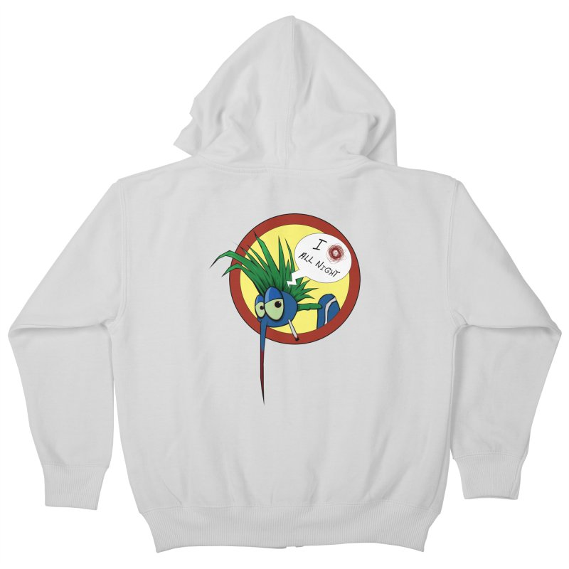 Buzzin Choosin' Kids Zip-Up Hoody by -Sho Art