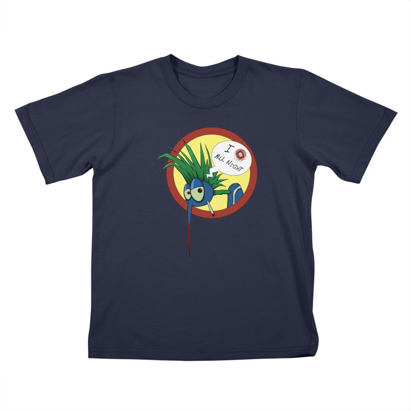 Punkass mosquito Kids T-Shirt by -Sho Art
