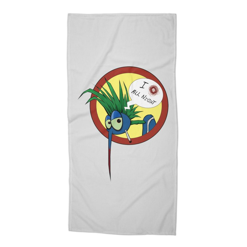 Punkass mosquito Accessories Beach Towel by -Sho Art