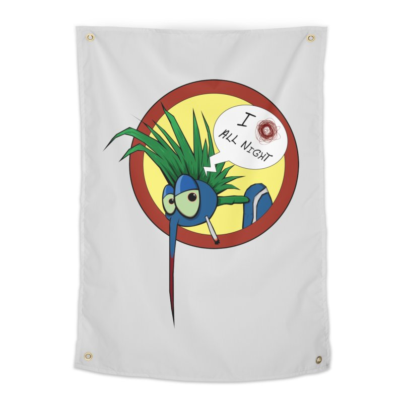 Punkass mosquito Home Tapestry by -Sho Art