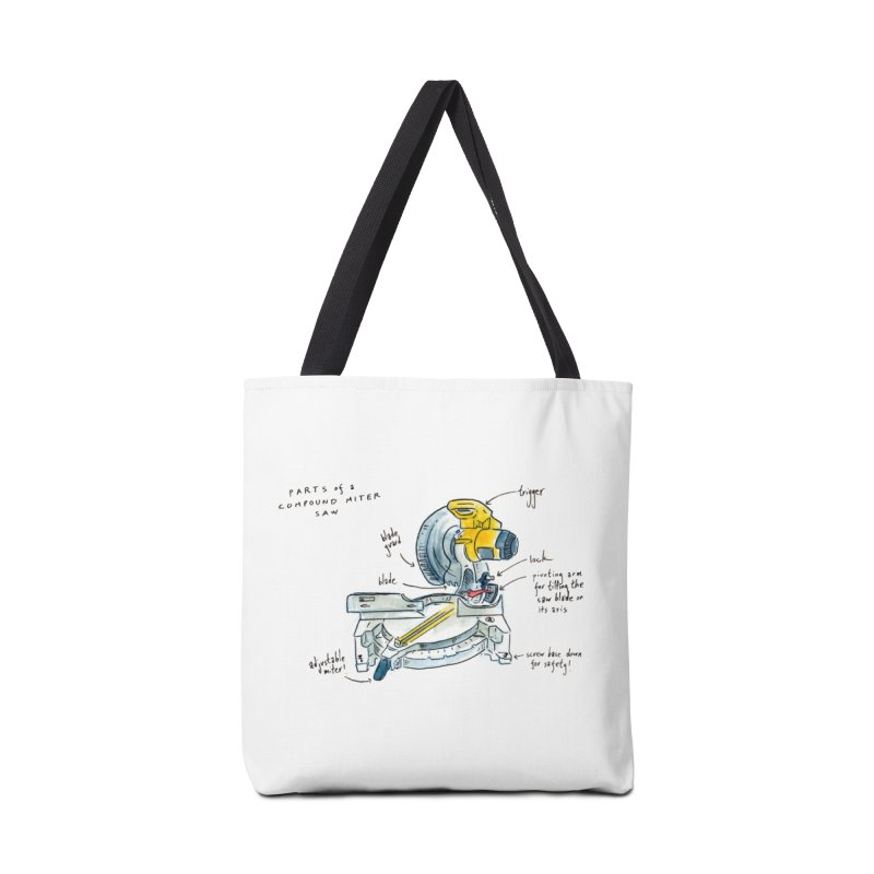 Shop Class Series: Compound Miter Saw Accessories Bag by Shop Class
