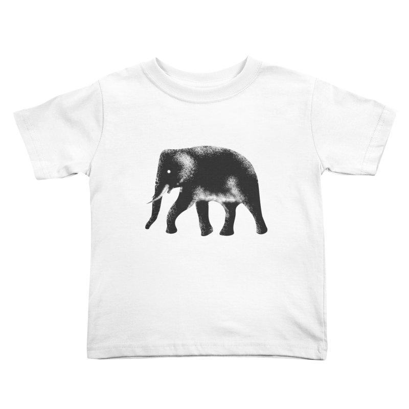 Elephant Kids Toddler T-Shirt by Indigoave Artist Shop