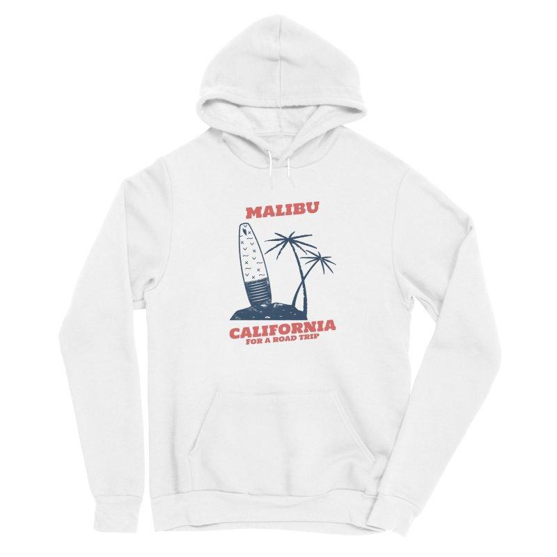 MALIBU CALIFORNIA ROAD TRIP Men's Pullover Hoody by Indigoave Artist Shop