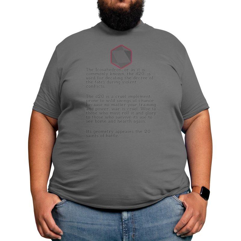 The d20 Men's T-Shirt by shopofjudd's Artist Shop