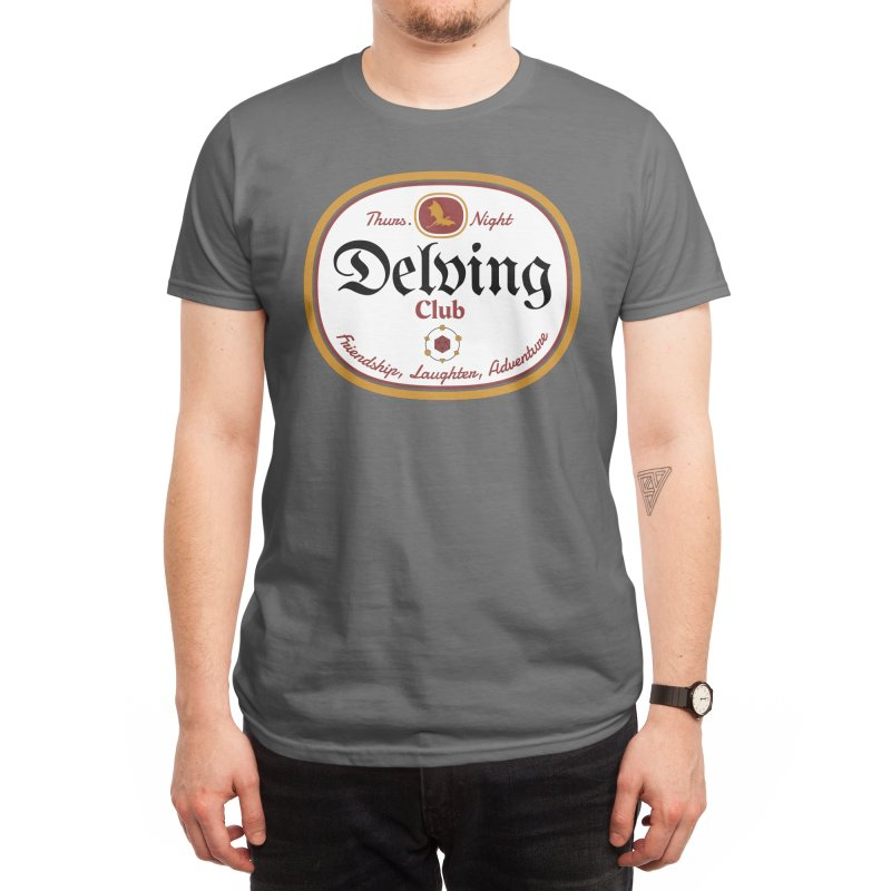 Thursday Night Delving Club: Friendship, Laughter, Adventure Men's T-Shirt by Judd's Shop