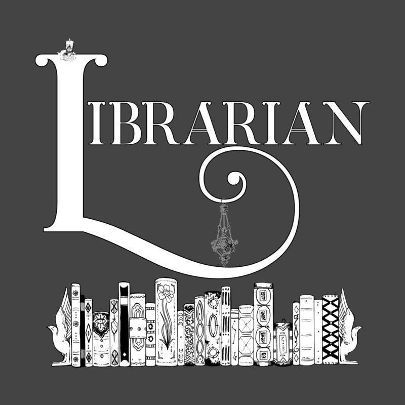 Librarian Men's T-Shirt by Judd's Shop