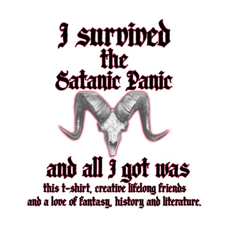 I survived the Satanic Panic... Masc T-Shirt by Judd's Shop