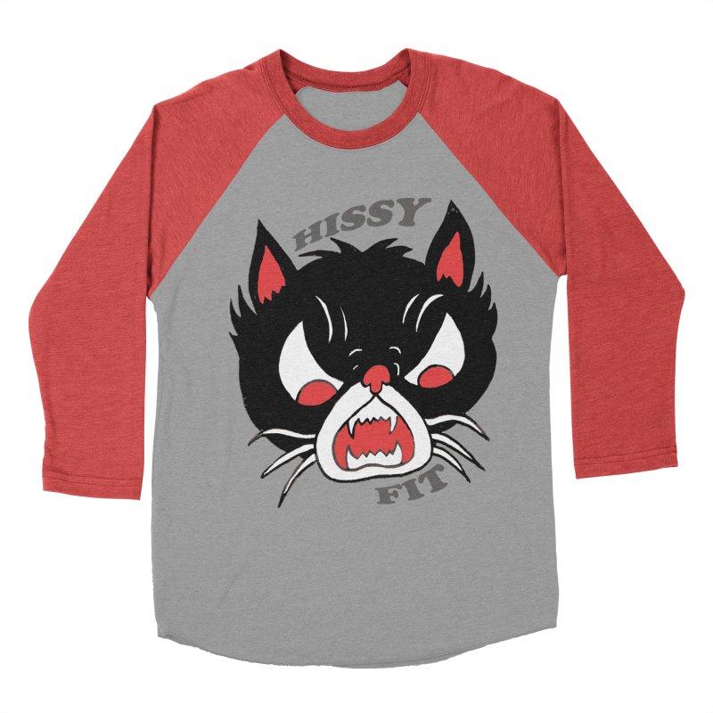 HISSY FIT Men's Baseball Triblend T-Shirt by shortandsharp's Artist Shop