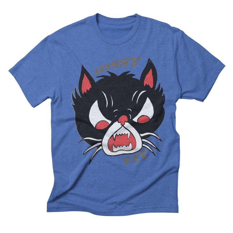 HISSY FIT Men's Triblend T-shirt by shortandsharp's Artist Shop