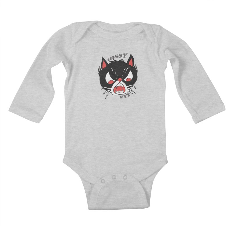 HISSY FIT Kids Baby Longsleeve Bodysuit by shortandsharp's Artist Shop