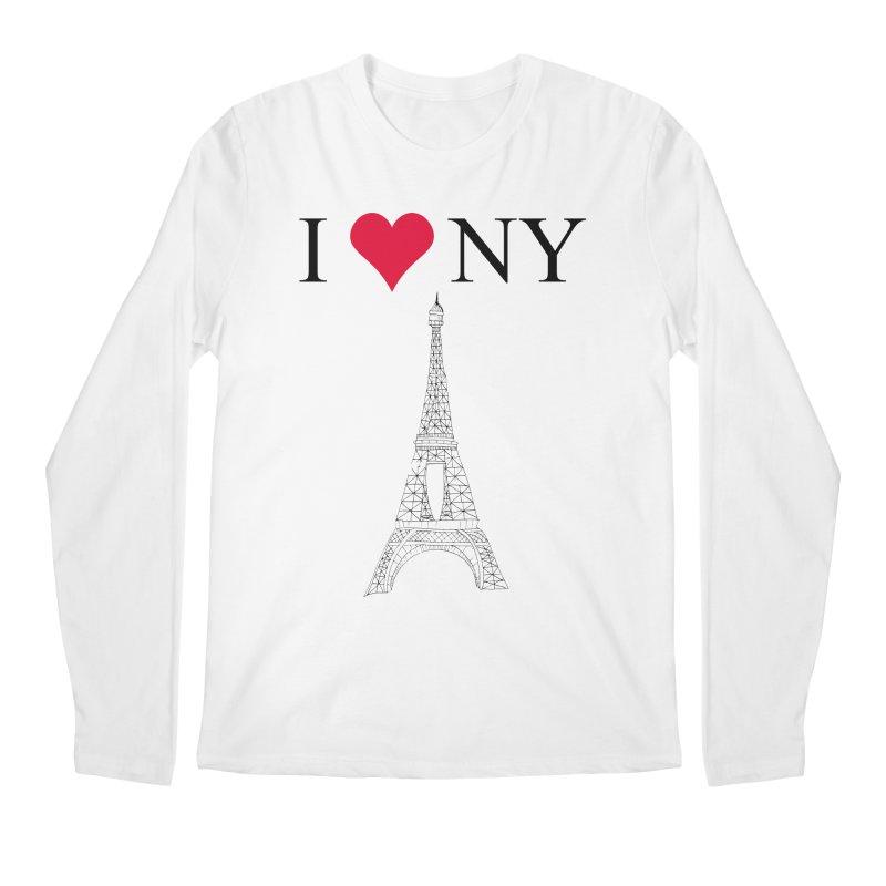 wrong city Men's Longsleeve T-Shirt by shortandsharp's Artist Shop