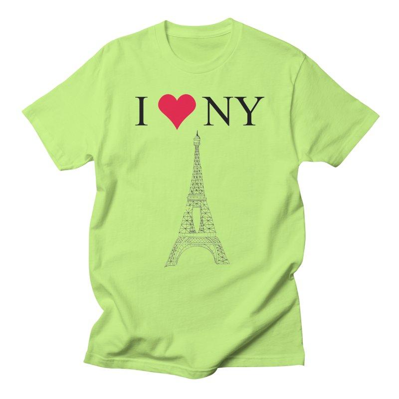 wrong city Men's T-shirt by shortandsharp's Artist Shop