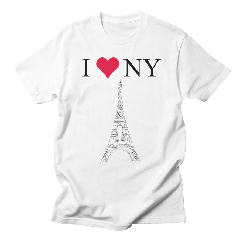 wrong city Women's Unisex T-Shirt by shortandsharp's Artist Shop