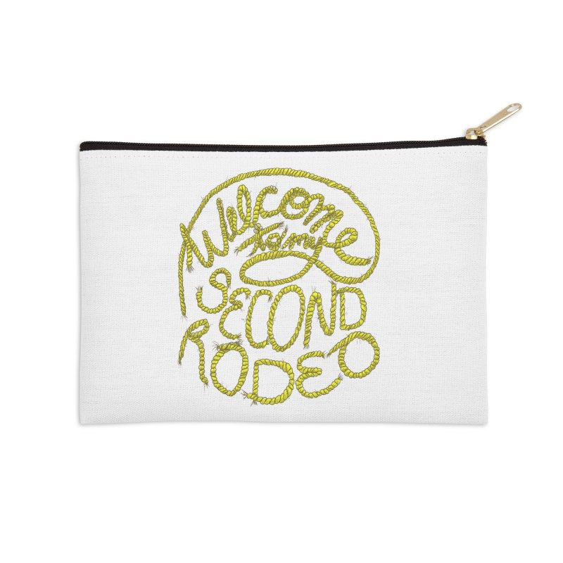 second rodeo Accessories Zip Pouch by shortandsharp's Artist Shop