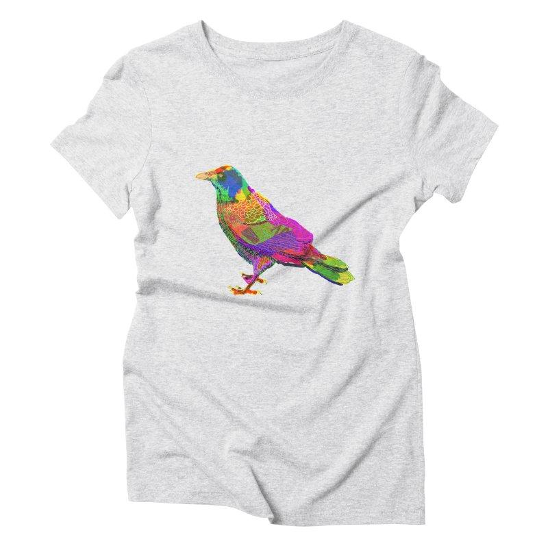 brid Women's Triblend T-Shirt by shortandsharp's Artist Shop
