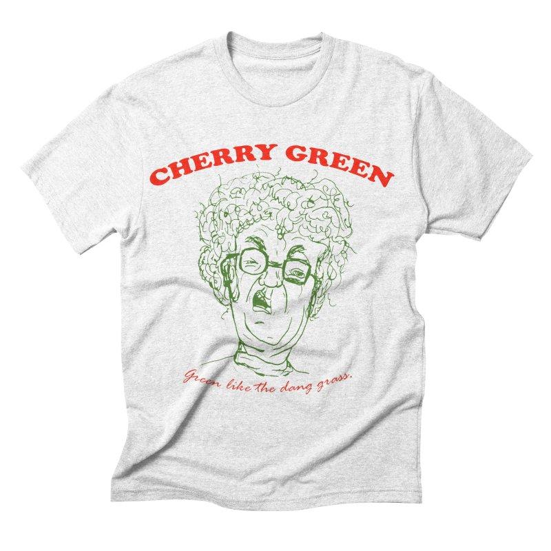 cherry green for Ryan Men's Triblend T-shirt by shortandsharp's Artist Shop