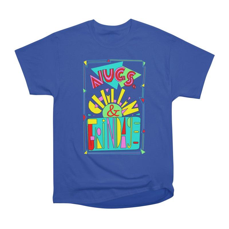 nugs, chillin and grindage Men's Classic T-Shirt by shortandsharp's Artist Shop